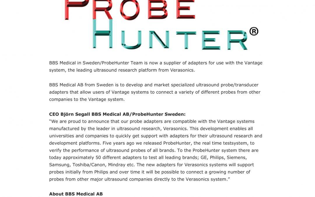 ICE Magazine October 1, 2019  ProbeHunter program for Verasonics